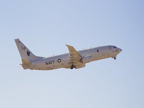 Самолет-разведчик США у Сирии побывал на прицеле кораблей и С-400