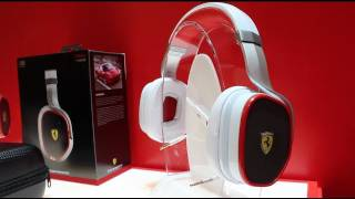 New Ferrari x Logic3 - Scuderia Ferrari R300 On-Ear Headphones