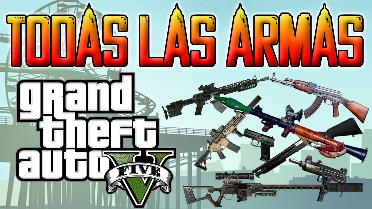 GTA V TRUCO PARA TENER TODAS LAS ARMAS Y MUNICIN INFINITA Combinacin Ps3 Y Xbox360 CHEAT