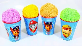 Paw Patrol Cups and Learn Colors Squishy Play Foam Surprise Eggs - Unbox Me
