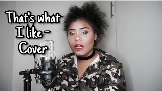 That's what I like - Bruno Mars // Vanessa Cover