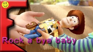 Toy story 4 trailer + rock a bye baby nursery rhyme for kids.