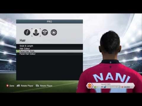FIFA 14 & 13 - How to make your Virtual Pro look like Nani