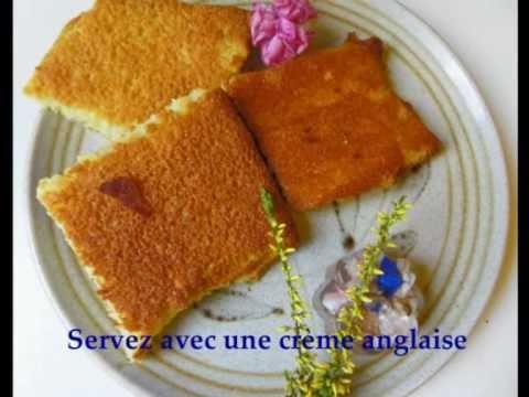 Petits gâteaux carrés aux amandes - Recette facile et rapide