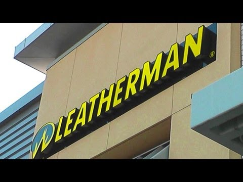 Touring the Leatherman Retail Store: Portland, OR