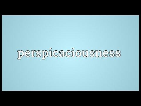 Header of perspicaciousness