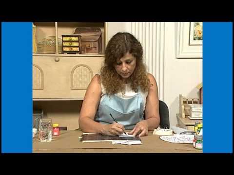 Curso Pinturas Decorativas em Madeira II - Técnica Bauermnalerei - Cursos CPT