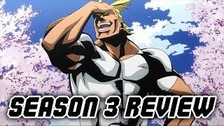 Boku no Hero Academia SEASON 3 REVIEW ft. MikeBowShow *SPOILERS*