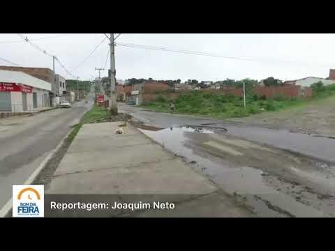 Morador reclama de problemas e cobra melhorias na avenida Ipanema