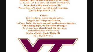 Virginia Tech Fight Song