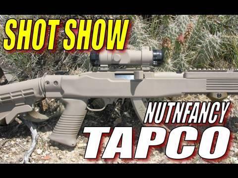 Nutnfancy SHOT Show: TAPCO!
