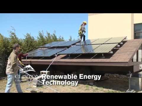 Clinton Community College Renewable Energy Technology