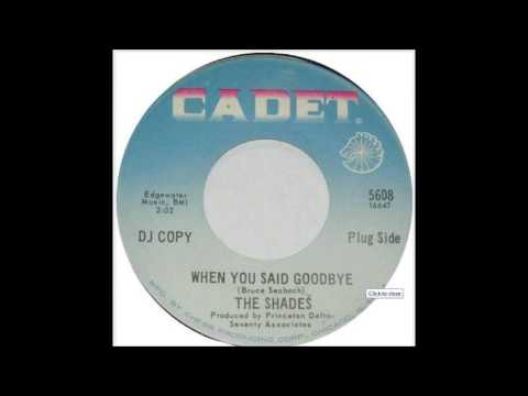 Shades - When You Said Goodbye