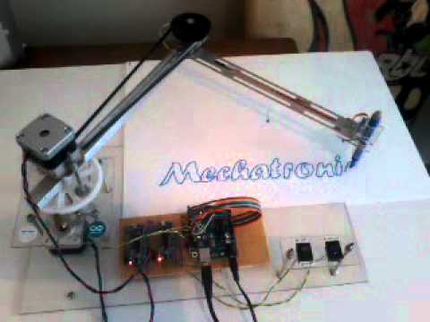 arduino mega pen plotter part 2 - YouTube