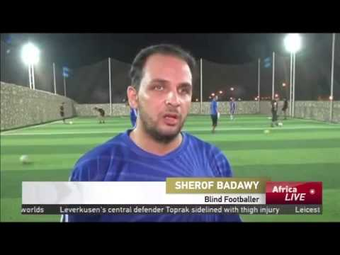 5823 sport CCTV Afrique Blind football team hopes to represent Egypt in Cameroon