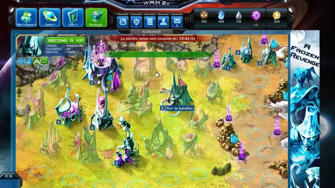 Exoplanet War Gameplay Exoplanet War pr Sentation