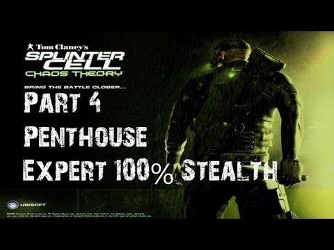 Splinter Cell - Chaos Theory - Stealth Walkthrough - Part 4 - The Penthouse video