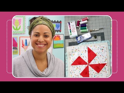 How to Baste & Big Stitch Hand Quilting- Crafty Gemini Tutorial
