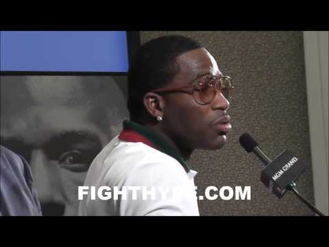 ADRIEN BRONER DISCUSSES MAYWEATHER'S WIN OVER GUERRERO; SAYS IT WAS LIKE ROBBING BANK WITHOUT A MASK