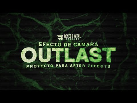 Free After Effects Template: Outlast Camera Effect / By REYES Digital