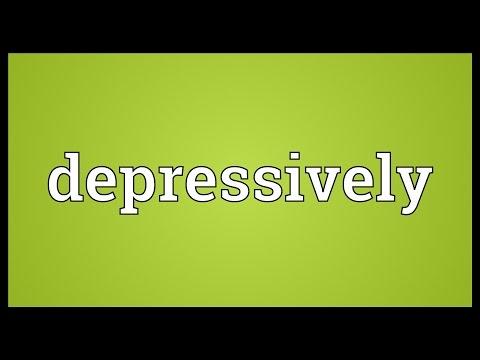 Header of depressively