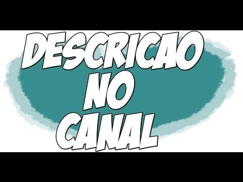 Descrição no Canal - Como Fazer thumbnail