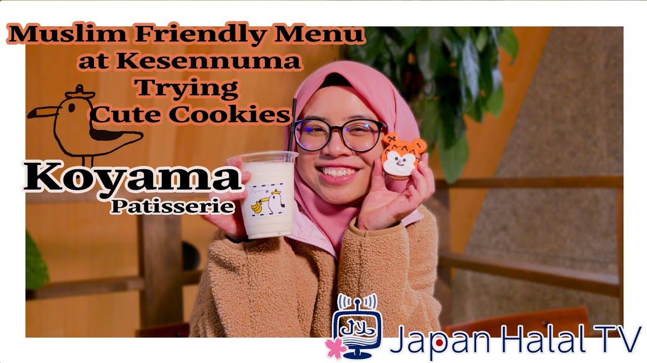 Koyama Patisserie, Muslim Friendly Sweet Shop at kesennuma