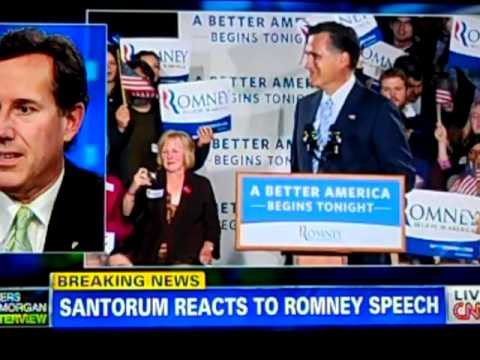 GOP12.com: Santorum: Romney gave