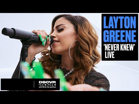 Layton Greene - Never Knew (Live) | Vevo DSCVR Artists to Watch 2020