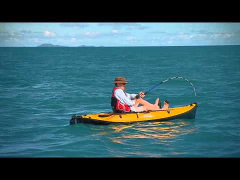 Shark vs Inflatable Torres Strait Whaler Shark Fishing Australia 2011