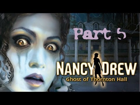 (5) NANCY DREW: GHOST OF THORNTON HALL w/ COMMENTARY - PC - AMATEUR SLEUTH