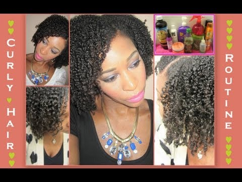 Curly Hair Products & Routine ♥ Wash & Go ♥