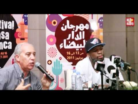50 Cent au Festival de Casablanca 2011 avec HIT RADIO