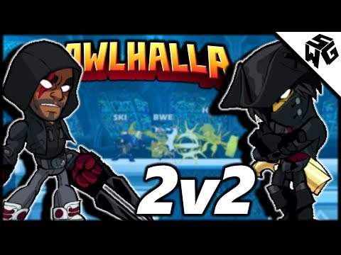 Ranked 2v2's w/ HottShottScott - Brawlhalla Gameplay :: What Are These Combos?