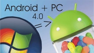 Android 4.0 no PC Sem Instalar [DEMO/TUTORIAL]