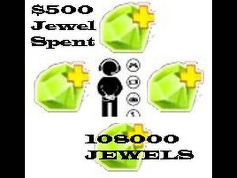 Clash of Lords 2 - ULTIMATE $500 JEWEL SPENDING SPREE 108K | Wishing Tree | Spend Jewels and Win Big