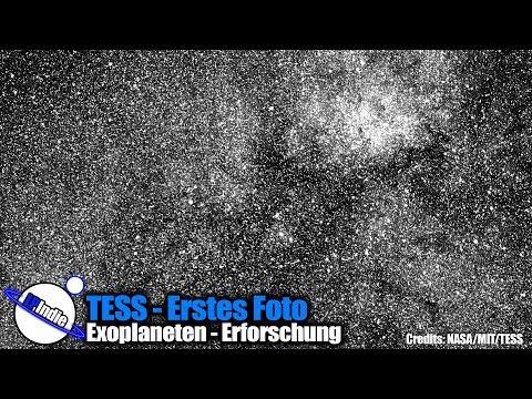 Exoplaneten - Forschung - Erstes Foto von TESS