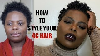 THIS IS WHY YOUR 4C HAIR ISN'T CURLING AND HOW TO FIX IT!