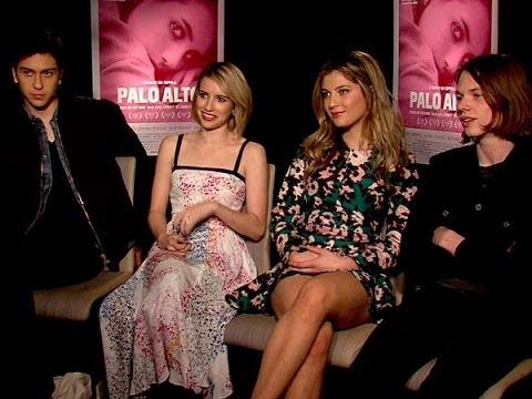 Nat Wolff, Emma Roberts, Zoe Levin and Jack Kilmer Talk 'Palo Alto'