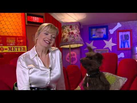 Carol Kirkwood - White Satin Blouse - Hacker CBBC 1080p Upscaled