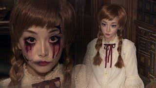 Vintage Doll + Broken Doll ✞ Halloween Makeup