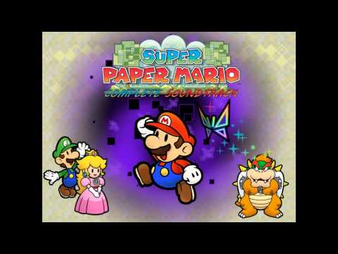 [Music] Super Paper Mario - Enter the Bitlands