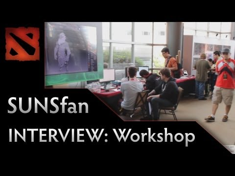 Dota 2 TI3 Interview - SUNSfan Workshop Overview
