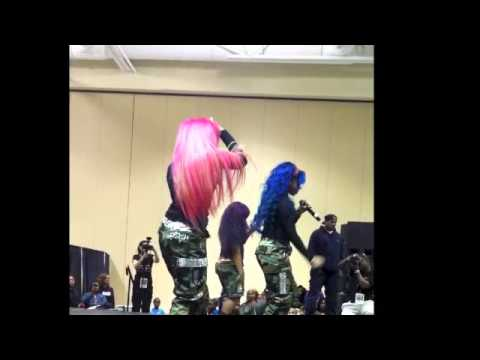 OMG GIRLZ PERFORMING AT THE BLACK EXPO (CHARLESTON, SC)