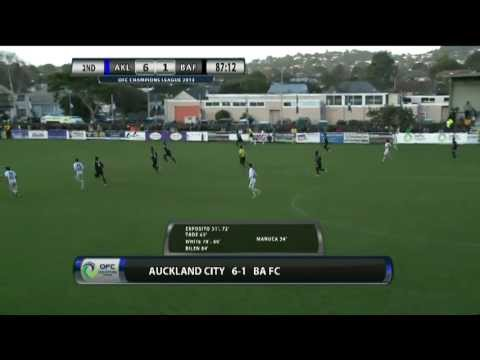 OFC TV Production - Copyright OFC TV © May 2013 Auckland City vs. Ba Sunday 5 May, 3pm local kick-off Kiwitea Street Auckland, New Zealand.