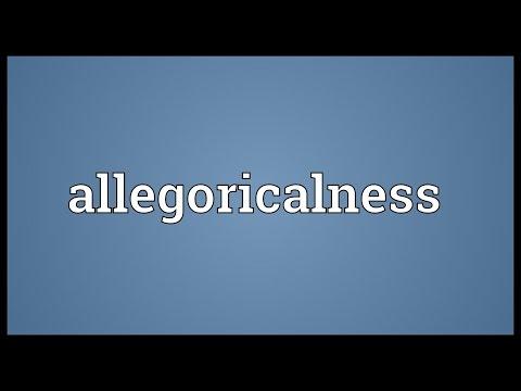 Header of allegoricalness