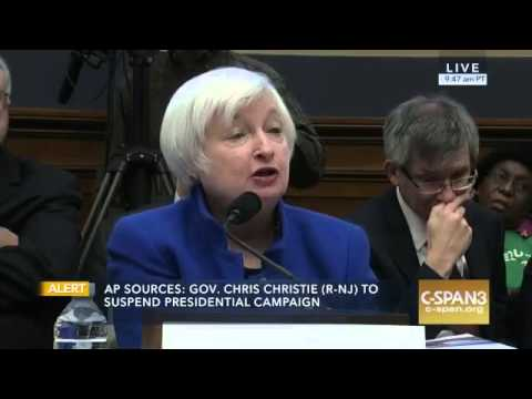 Rep. Perlmutter Questions Fed Chairwoman Yellen on the Economy