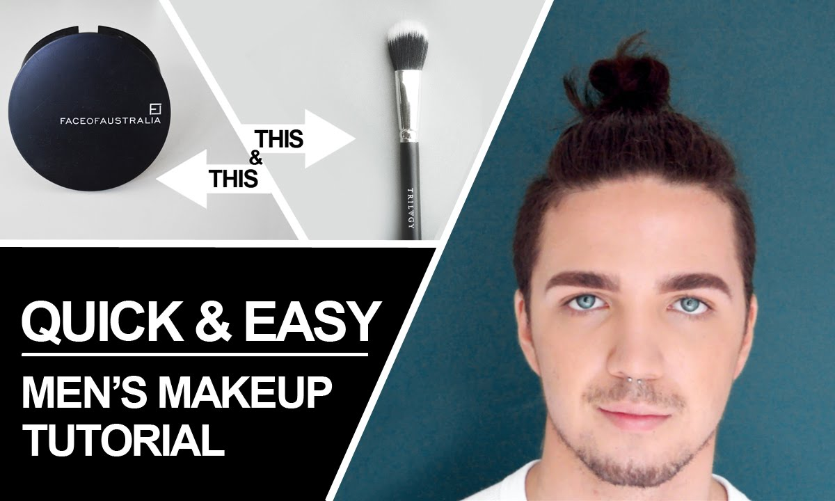 guys makeup tutorial