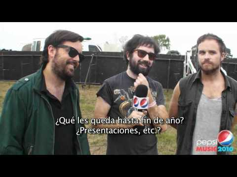 BICICLETAS / Nota /  Dia 1 / Pepsi Music 2010 (Outdoors)