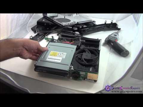 XBOX360SLIM Liteon DVD Drive Replacement   gc repairs